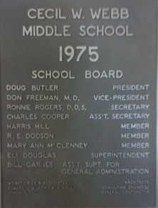 Webb Middle School Alma Mater by Jim Taylor