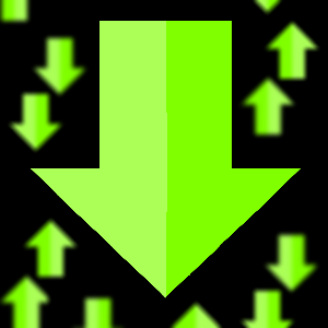 Green arrows.