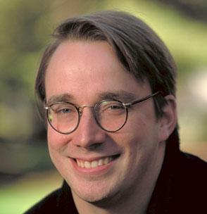 A picture of Linus Torvalds