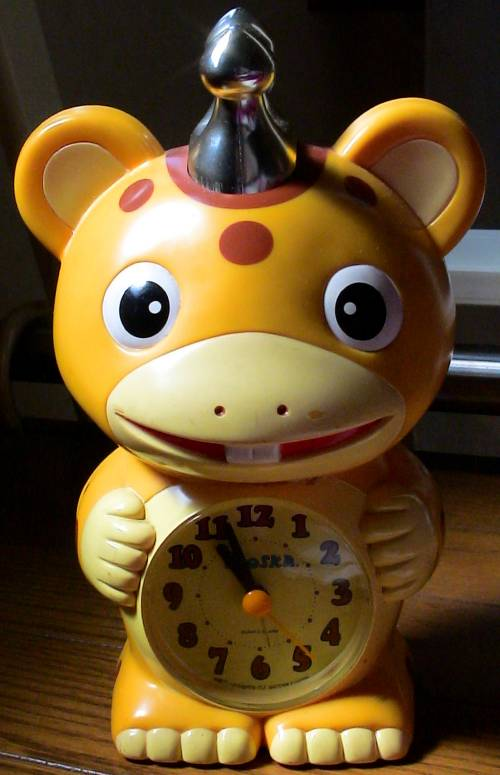A Japanese alarm clock