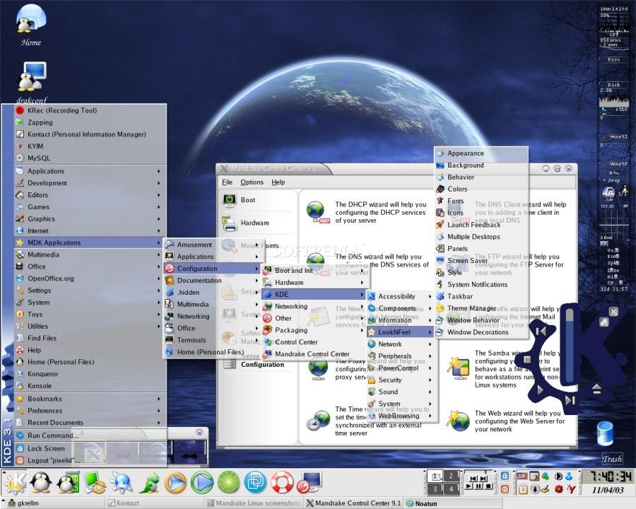 mandriva linux image